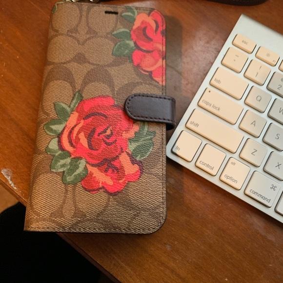 promo code b6798 52f99 Coach IPhone XS Max Case NWT
